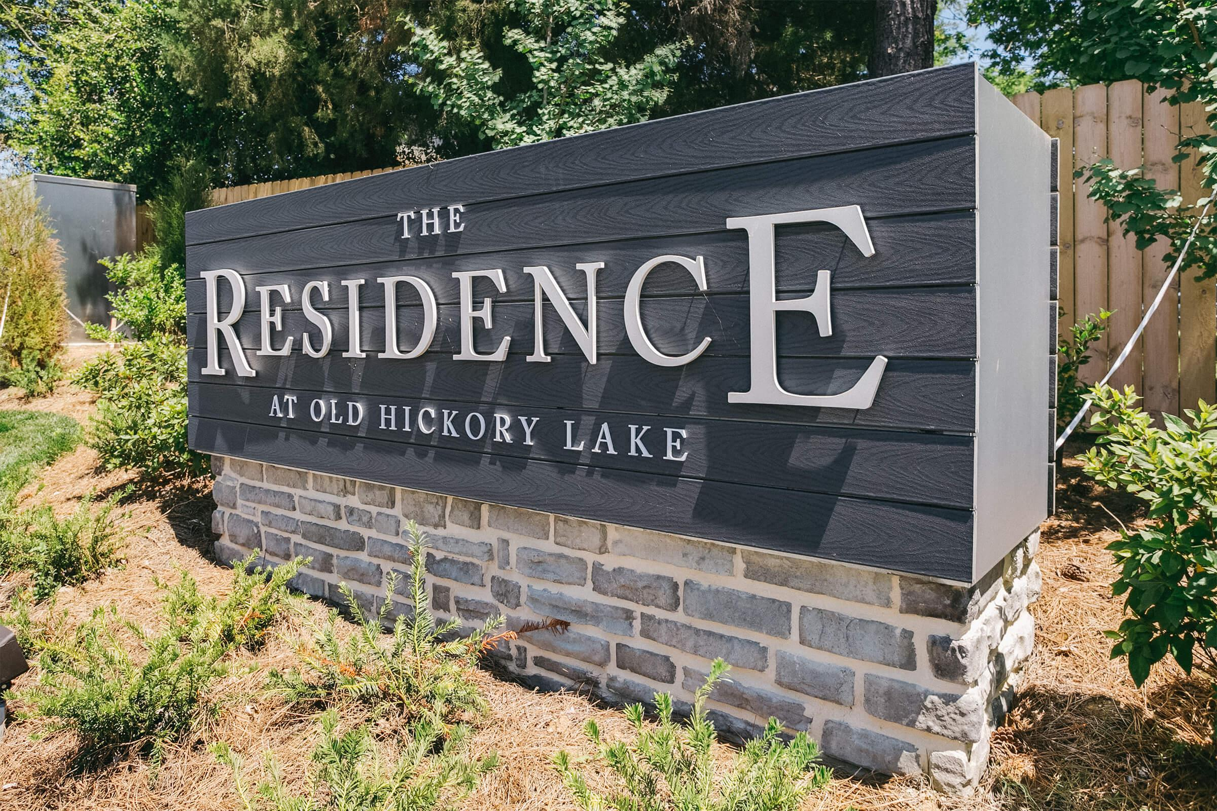 Welcome home to The Residence at Old Hickory Lake