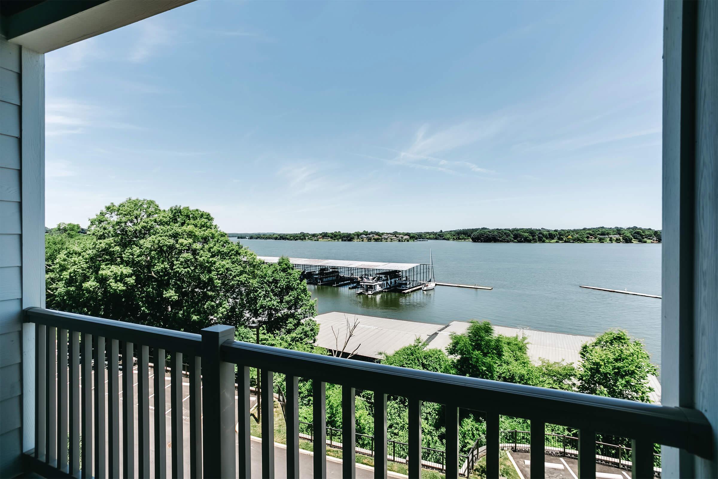 Soak up the views at The Residence at Old Hickory Lake