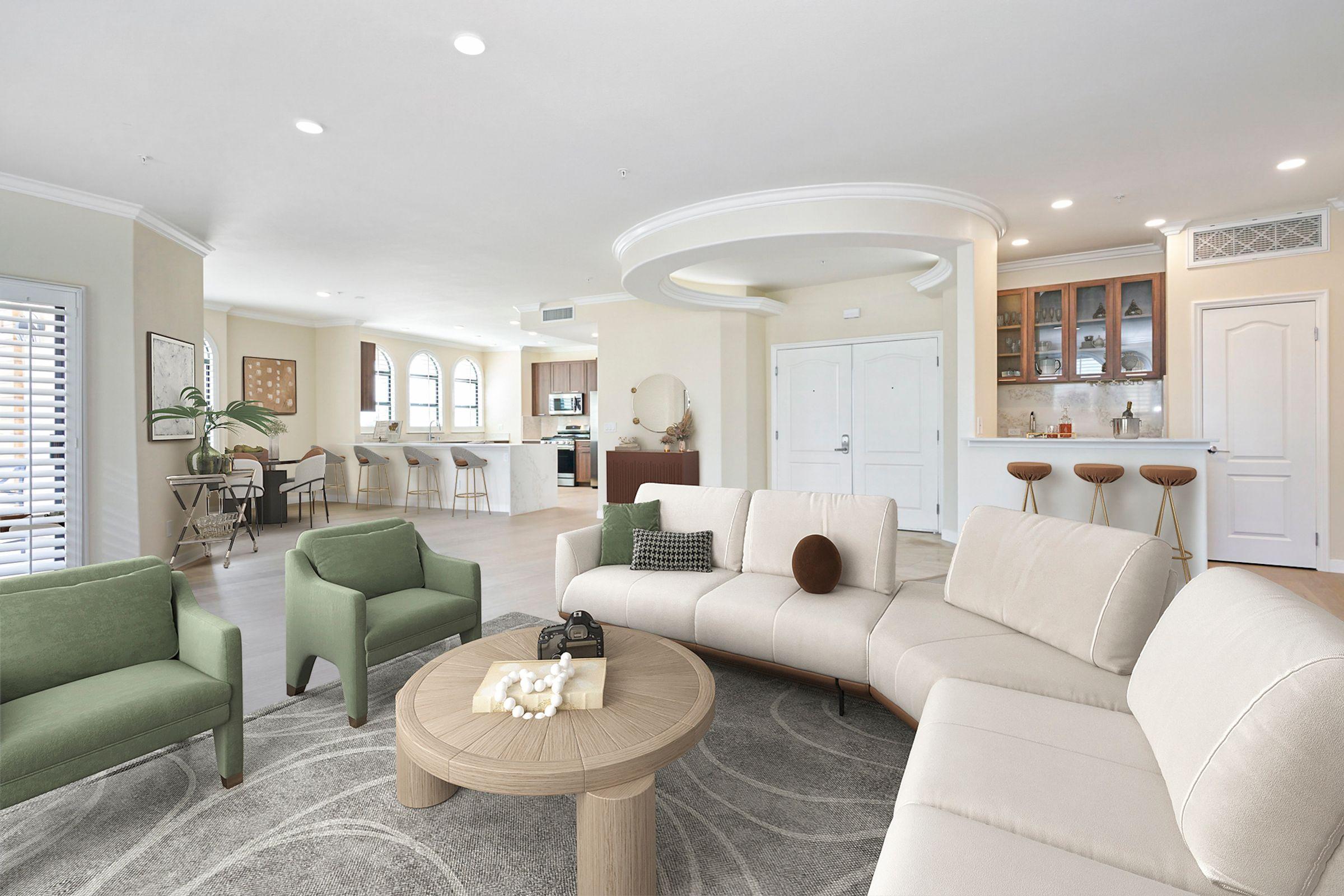 Luxurious Apartment Interiors