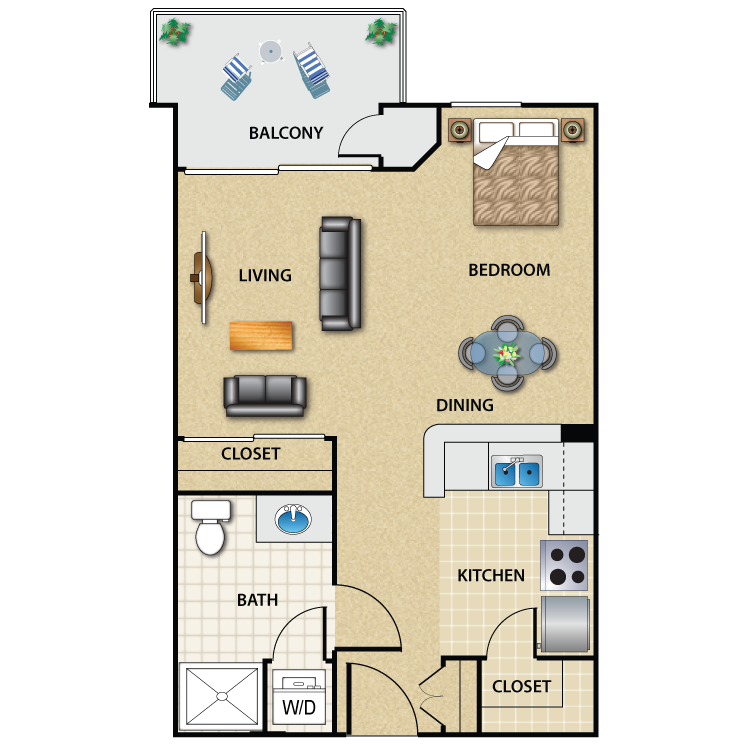 Studio Apartment Floor Plan the medici - availability, floor plans & pricing