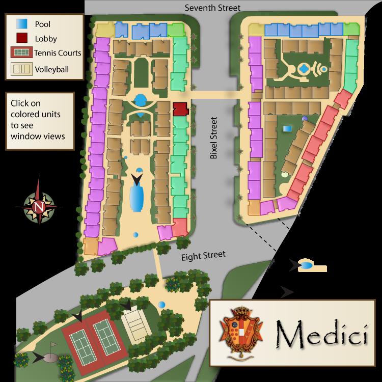 Medici Apartments: The Medici