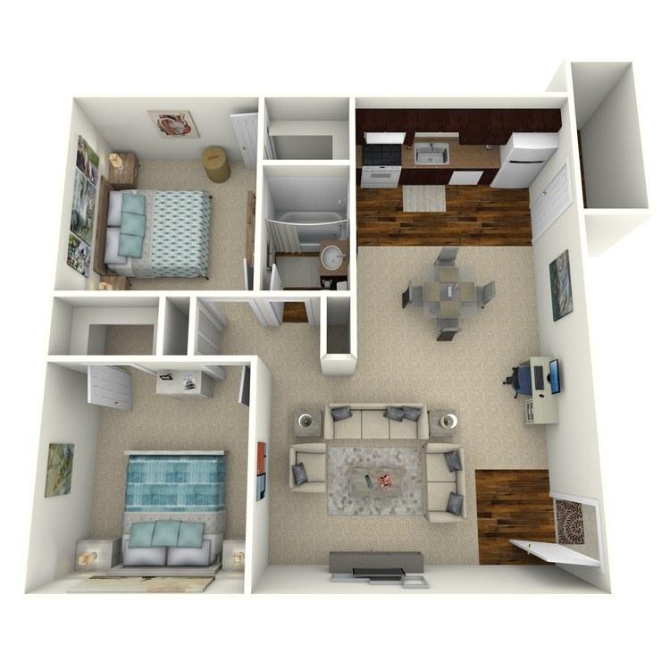 Floor plan image of B-5