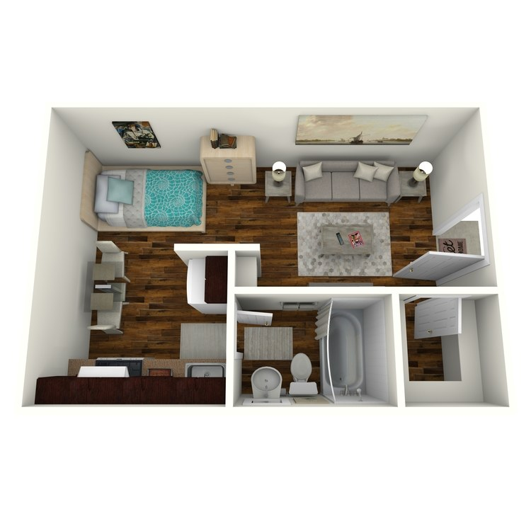 Floor plan image of E-1