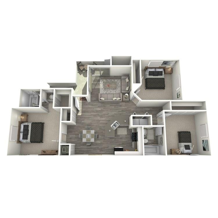 Floor plan image of The Zenith