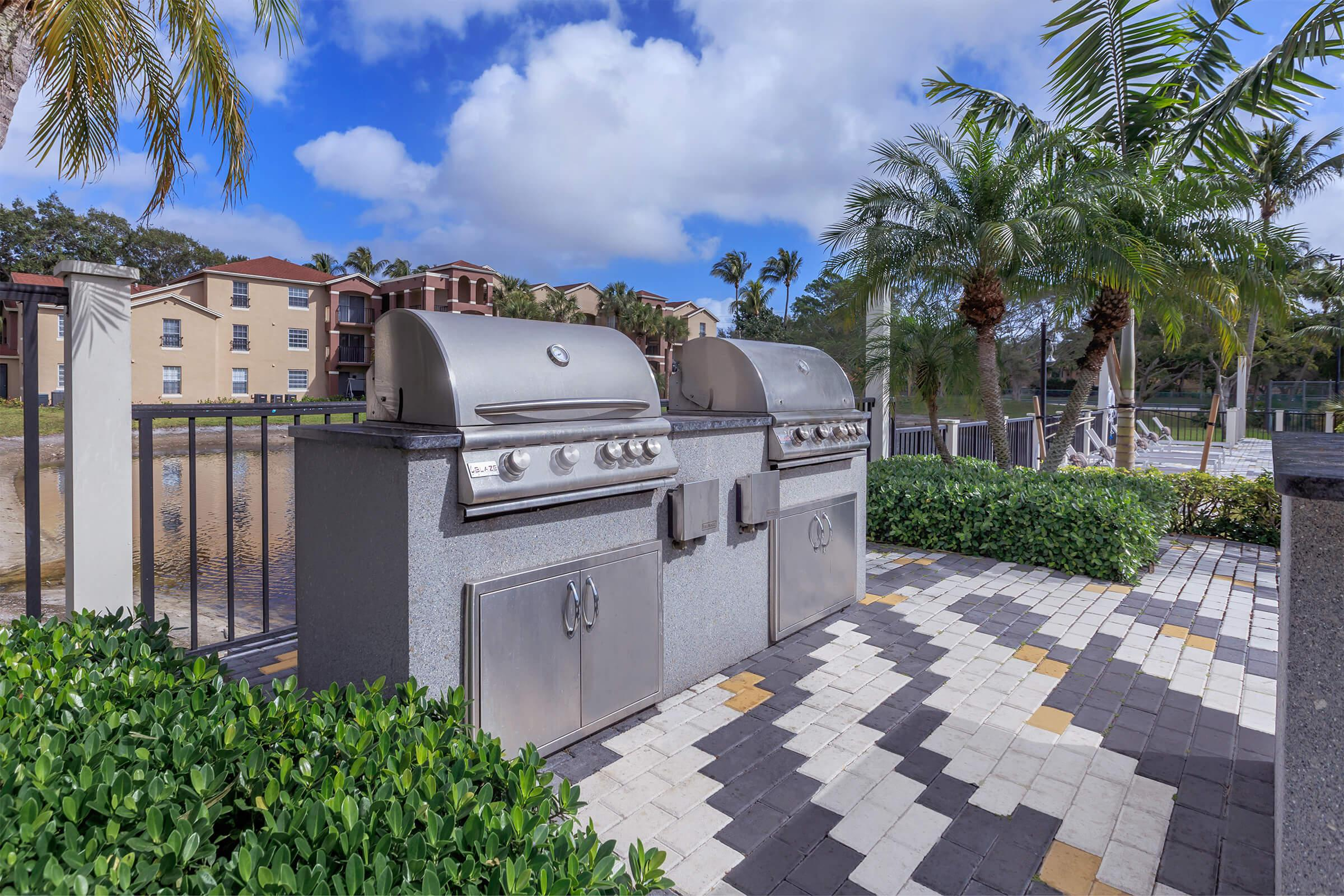Cookout at Latitude Pointe Apartments in Boynton Beach, Florida