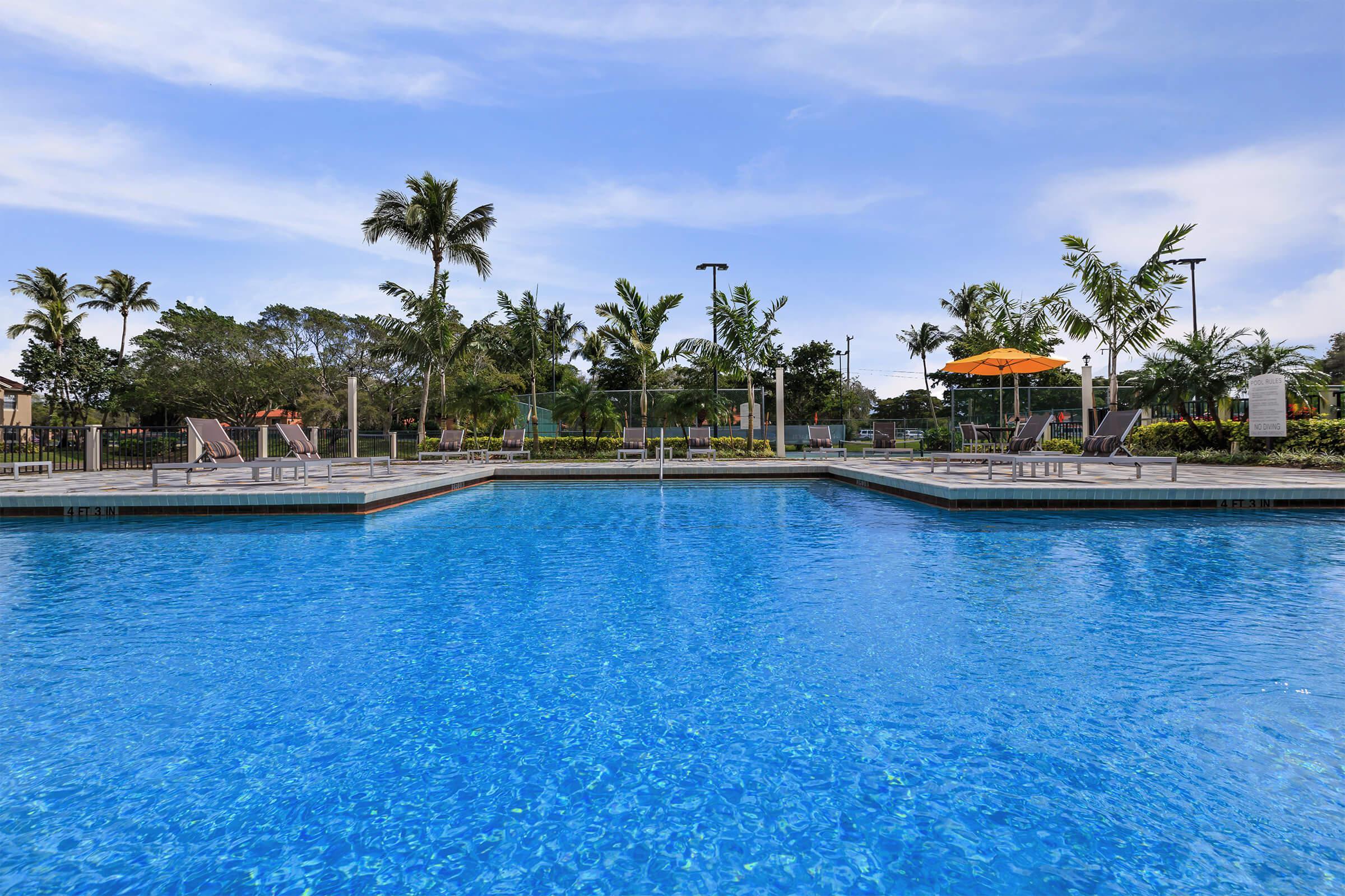 Pool at Latitude Pointe Apartments in Boynton Beach, Florida