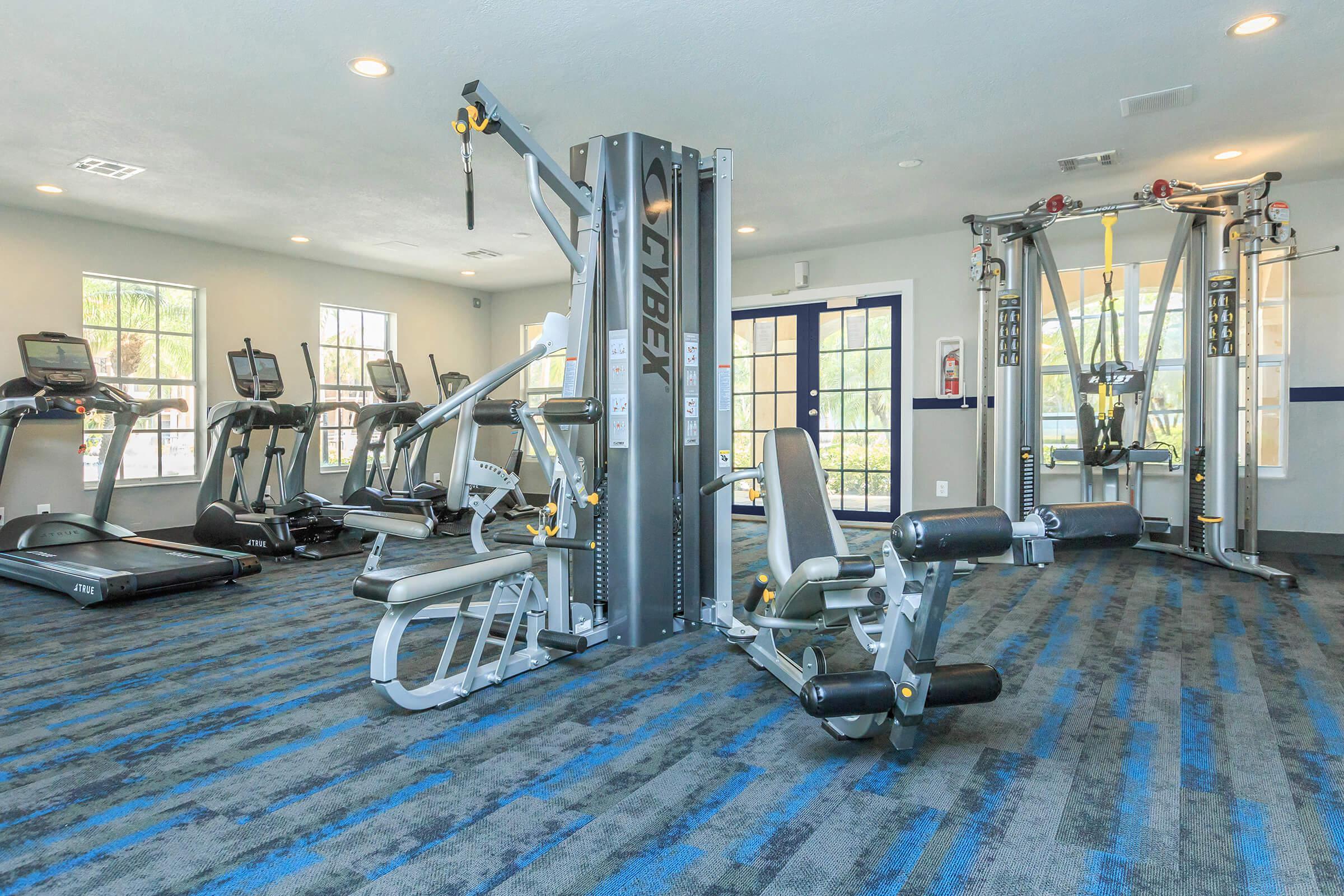 Fitness Center at Latitude Pointe Apartments in Boynton Beach, Florida
