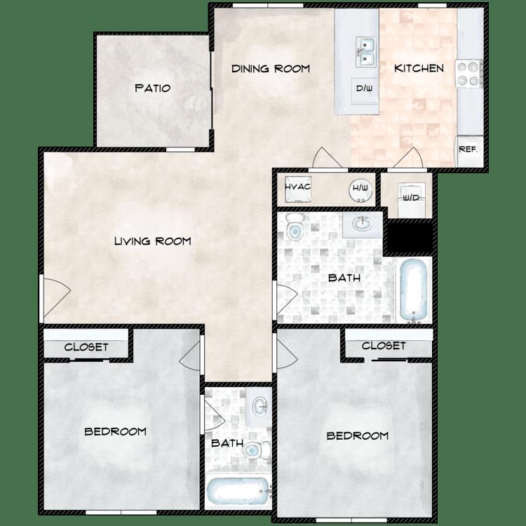 Floor plan image of Type 7