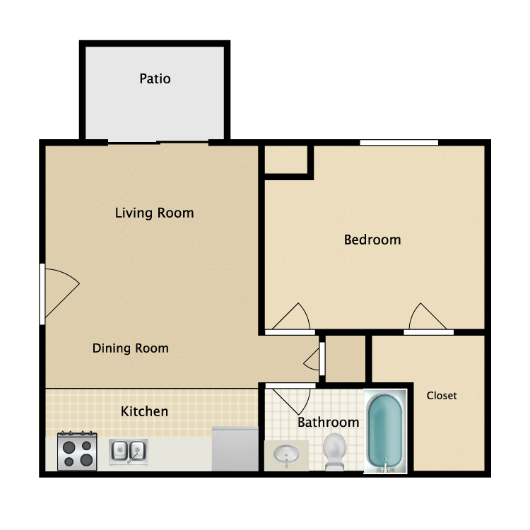 Floor plan image of Abby