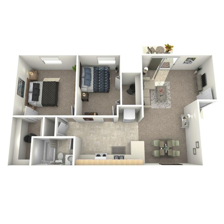 Floor plan image of Charleston Upstairs