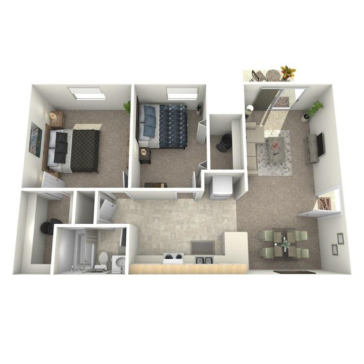 Floor plan image of Charleston Downstairs