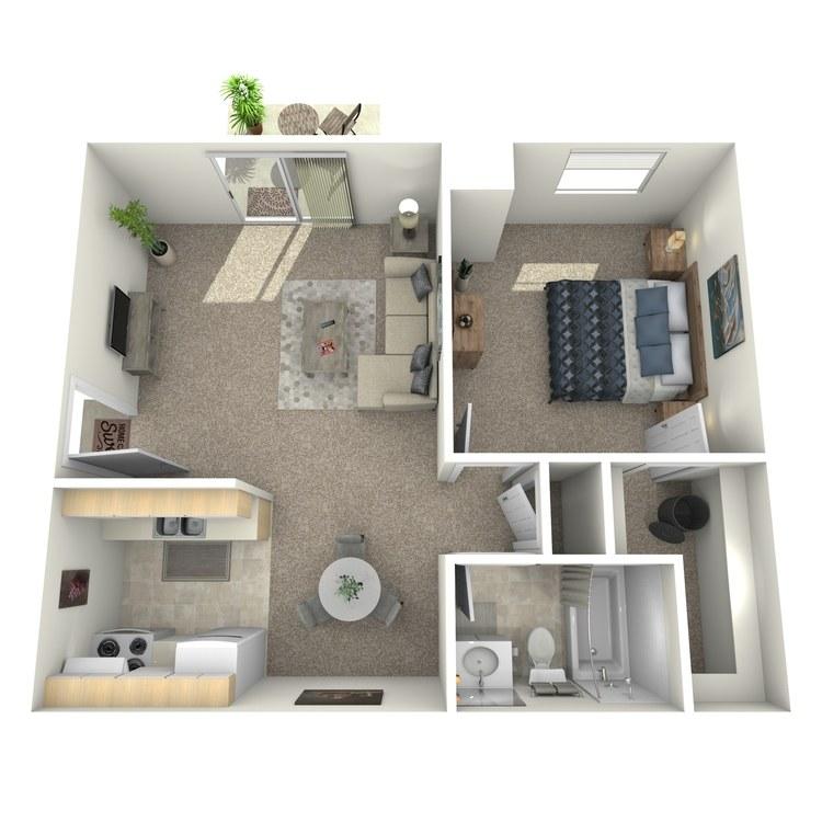 Floor plan image of Bedford Downstairs
