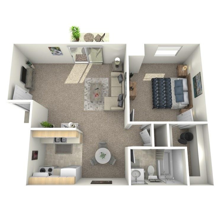 Floor plan image of Bedford Upstairs
