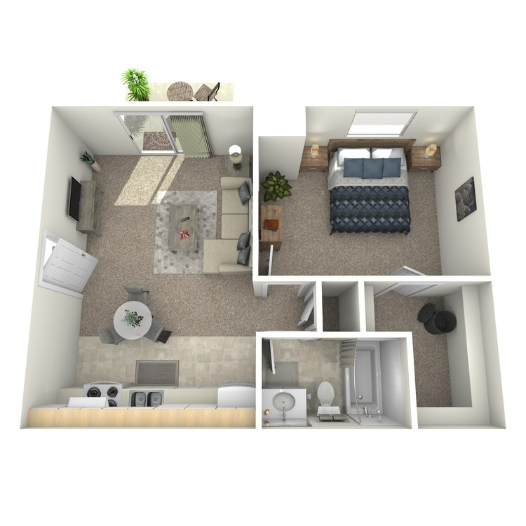 Abby Downstairs floor plan image