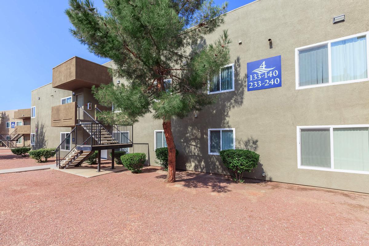 Apartment living at Las Brisas De Cheyenne Apartments