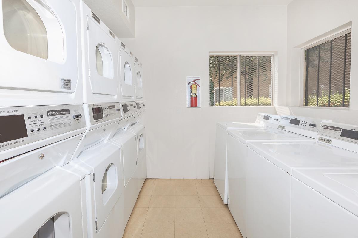 Las Brisas De Cheyenne Apartments provides laundry facility