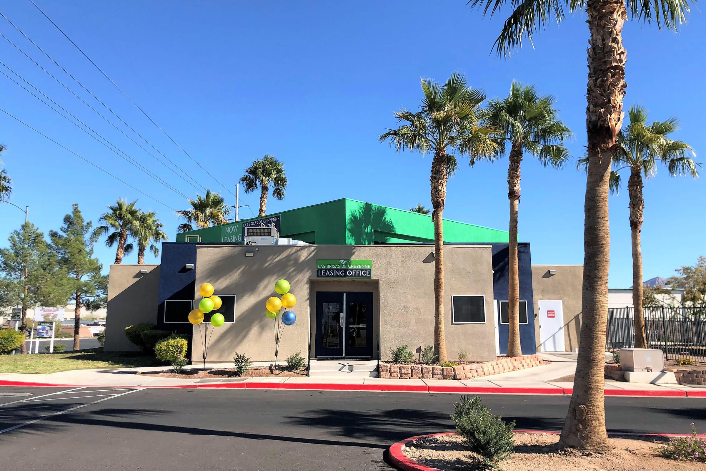 LEASING OFFICE AT LAS BRISAS DE CHEYENNE IN LAS VEGAS, NEVADA