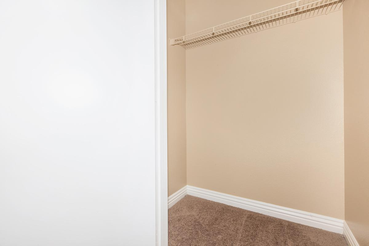 Las Brisas De Cheyenne Apartments provides walk-in closets