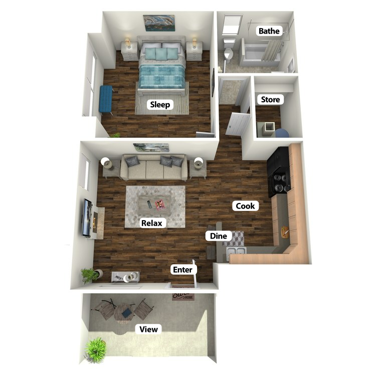 Floor plan image of Terrera Suite