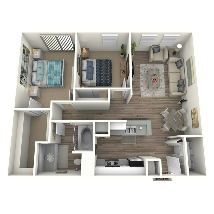 Floor plan image of B0