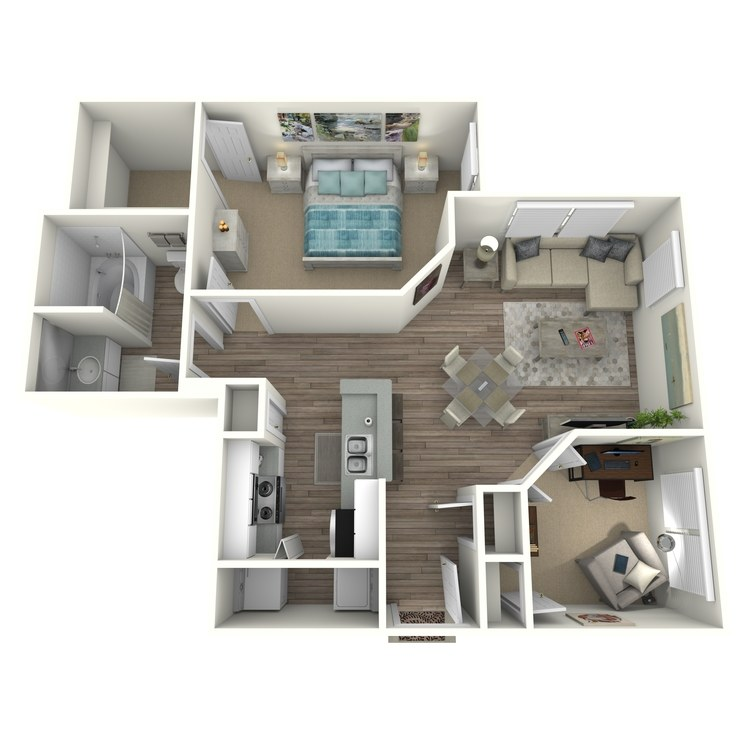 Floor plan image of A7