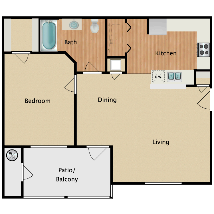 Floor plan image of A1-HC