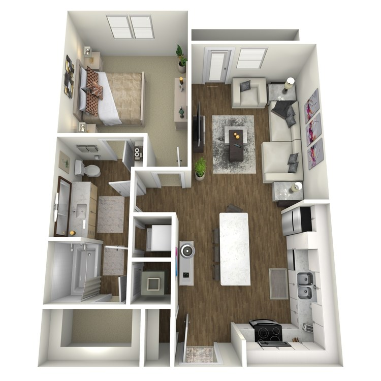 Floor plan image of A2