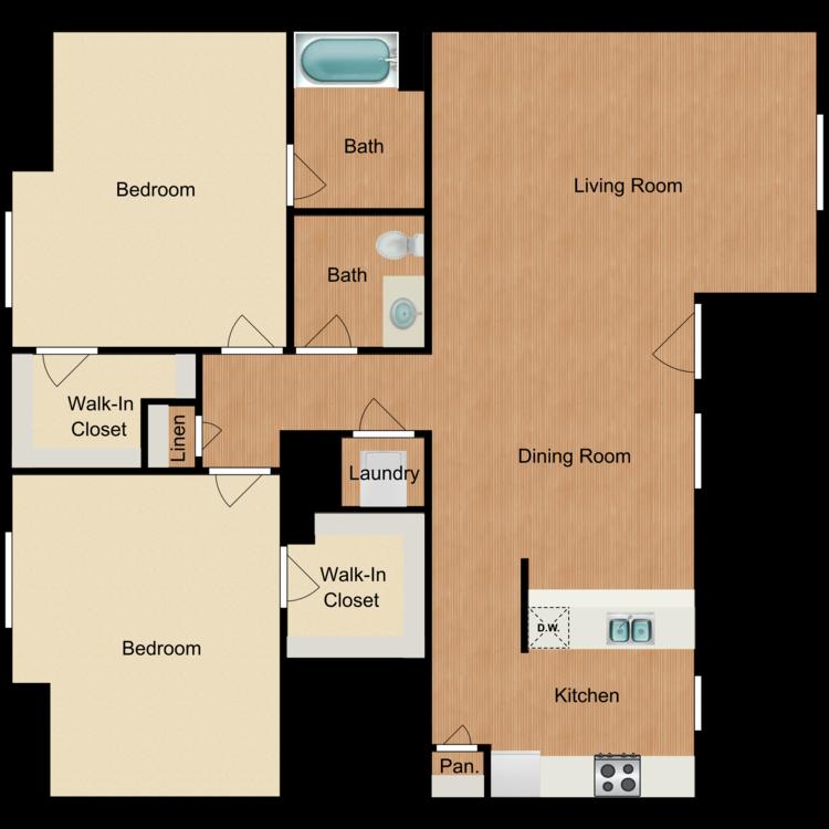 Encantada floor plan image