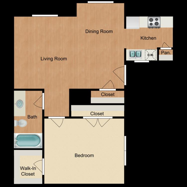 Floor plan image of Ladera