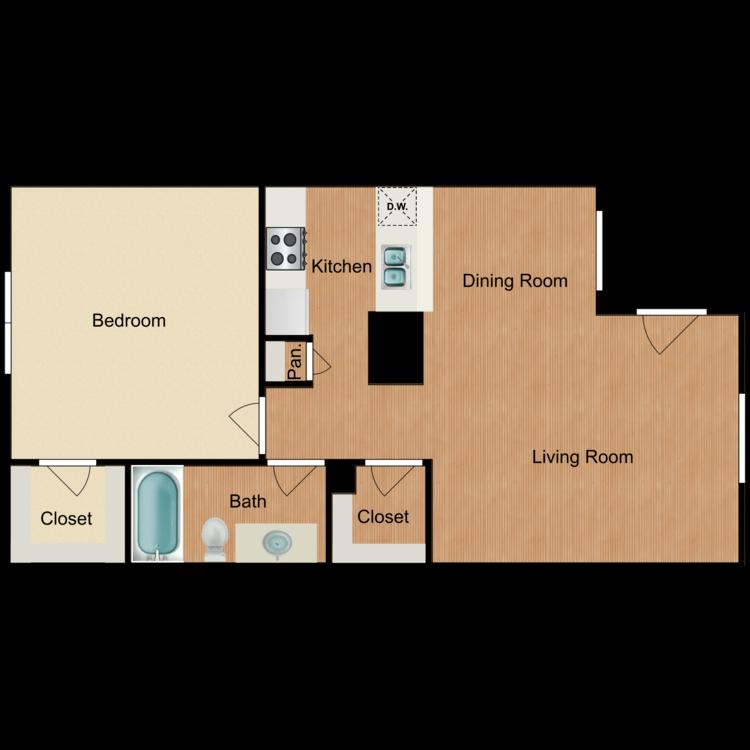 Floor plan image of Moorena