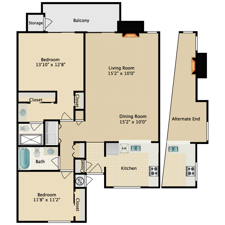 Floor plan image of Shoreline