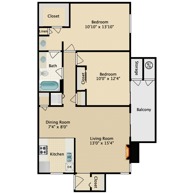 Floor plan image of Tradewind