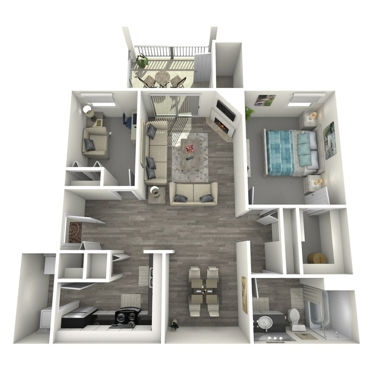Floor plan image of Martinique