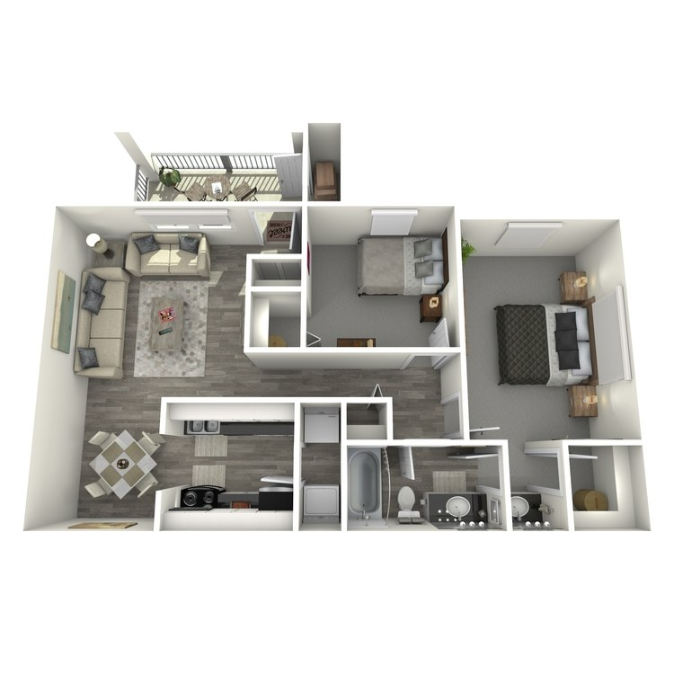 Floor plan image of St. Tropez R