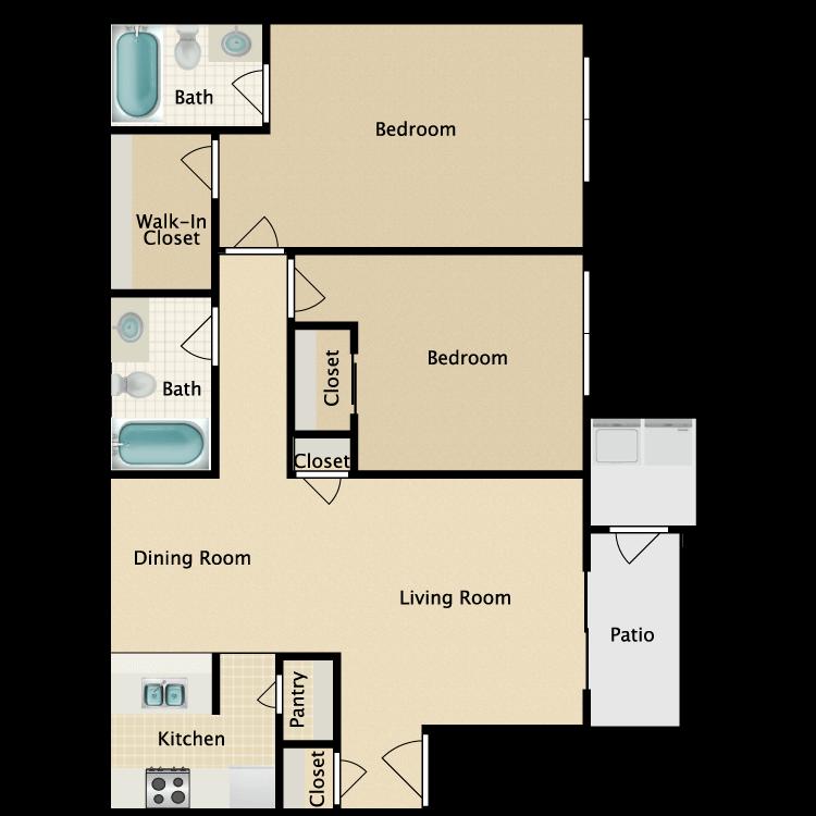 Floor plan image of Ontario