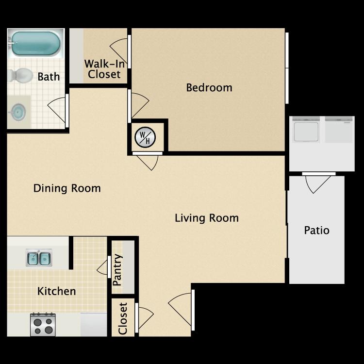 Floor plan image of Quebec