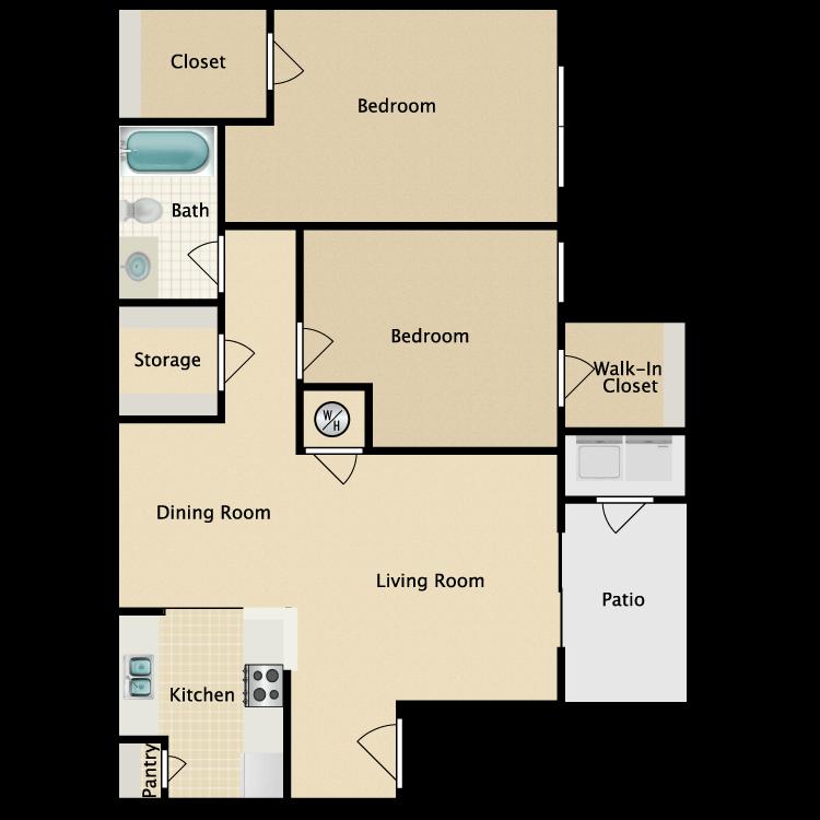 Floor plan image of Regina