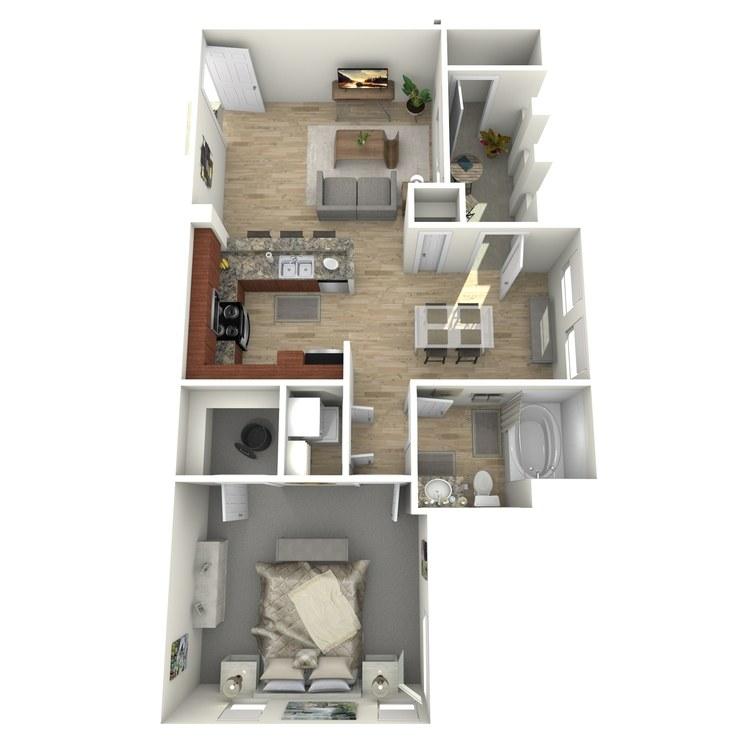 Floor plan image of A7