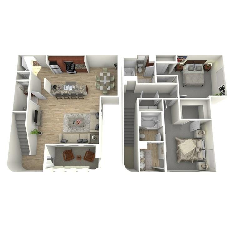 Floor plan image of B9