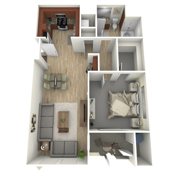 Floor plan image of A9