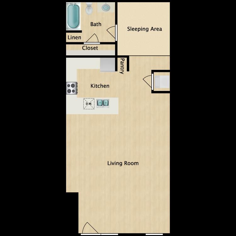 Floor plan image of Loft 22