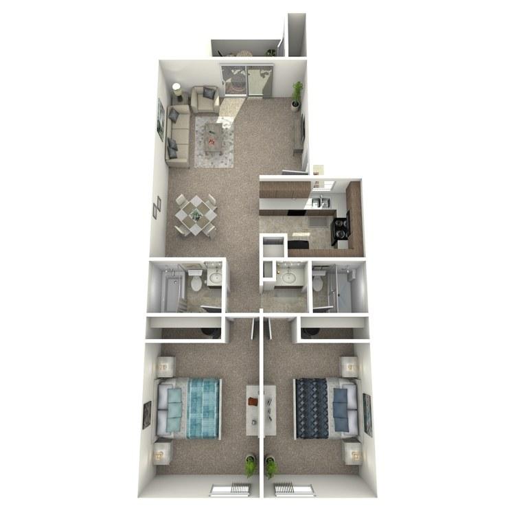 Meadow floor plan image