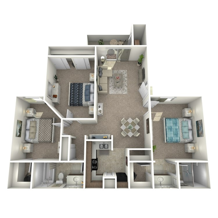 Oasis floor plan image