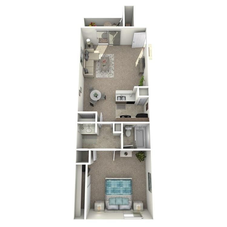 Retreat floor plan image