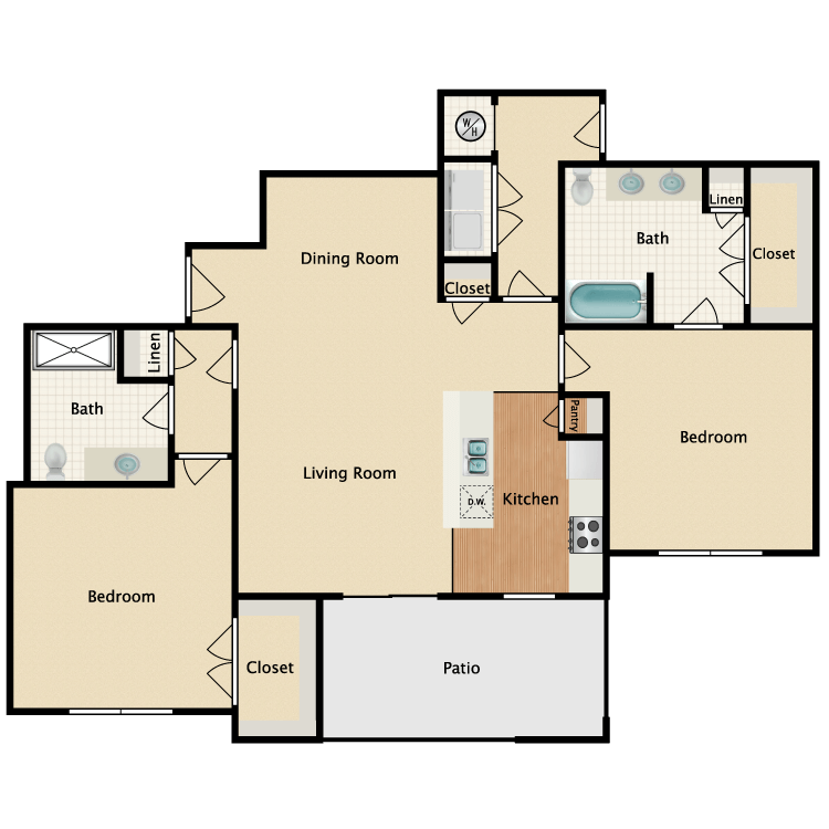 Floor plan image of Cascade