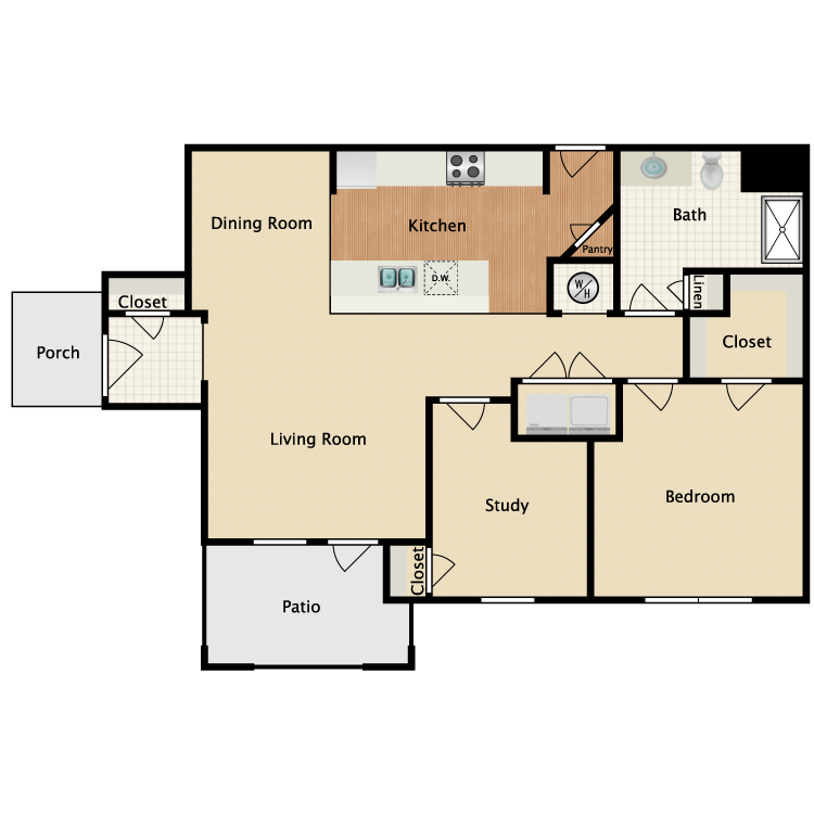 Floor plan image of Cimmaron