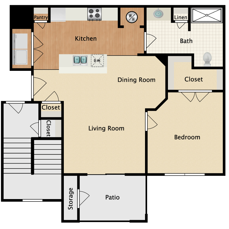 Floor plan image of Medina