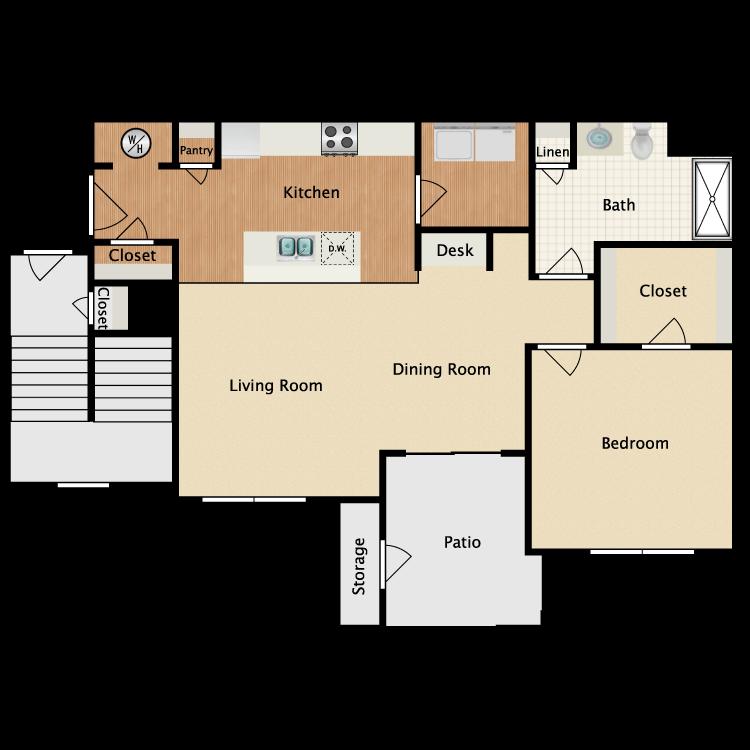 Floor plan image of Rio