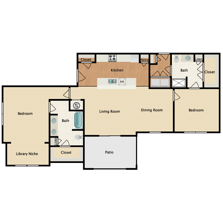 Floor plan image of Savanna