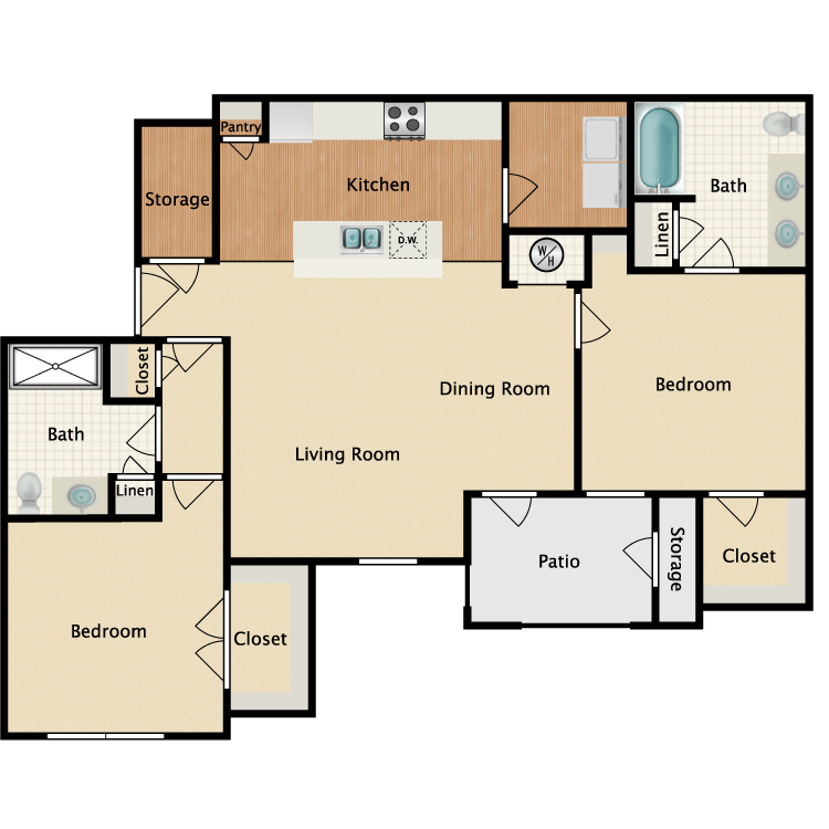 Floor plan image of Sheyenne